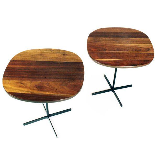 Allan Gould Walnut Side Table