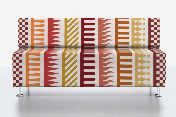 Palio pattern fabric by Alexander Girard.