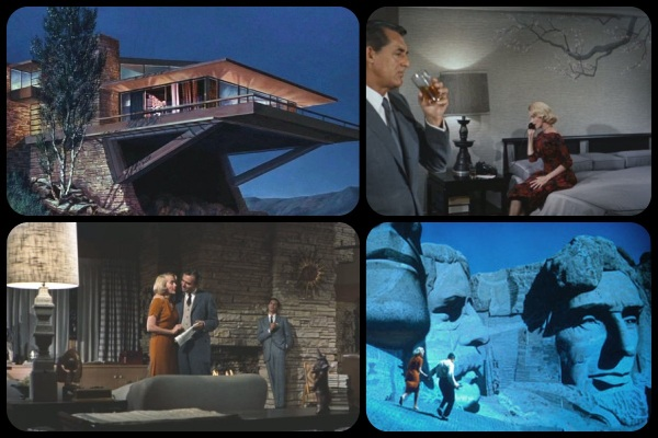 Stills from North by Northwest
