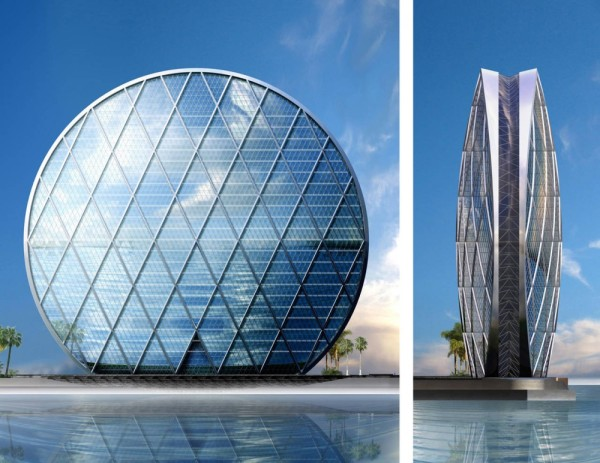 HQ building in Abu Dhabi
