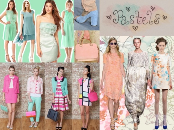 Pastels are making a comeback this year