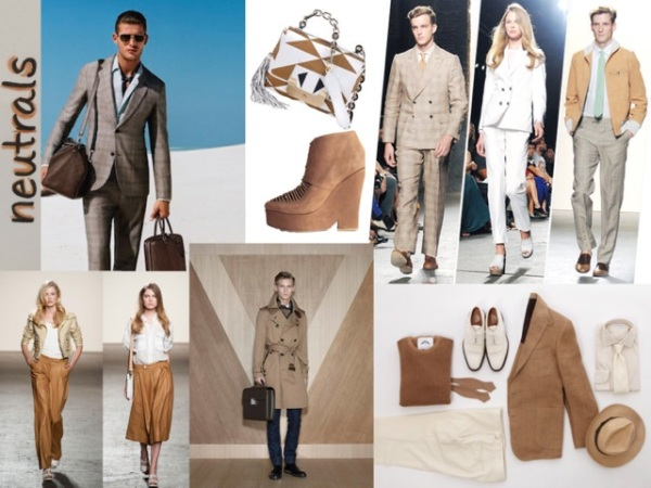 Neutrals are chic and easy