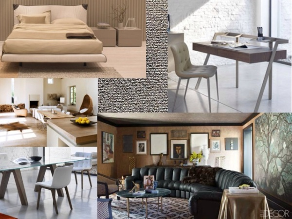1. Zac desk 2. Dark and moody room decor 3. Aron dining table and Kuga chairs. 4. Light and airy neutral room. 5. Kelly Bed 6. Tokyo shag rug.