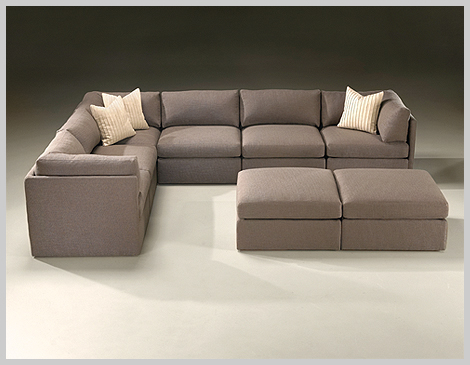 Thayer Coggin's Design Classic keeps it's shape and comfort with trillium cushion inserts