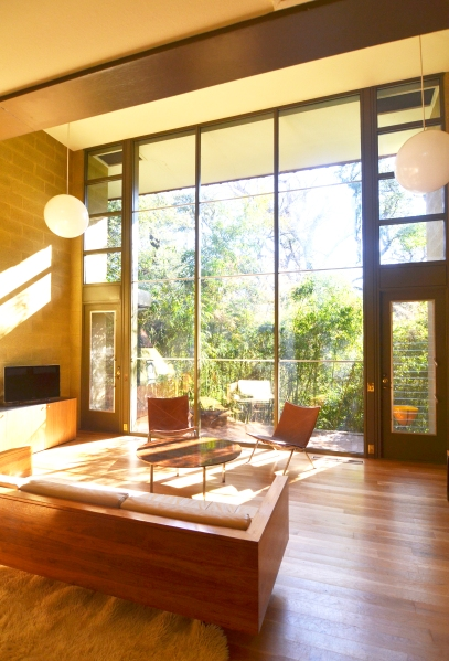 A sneak into one of the interiors from the Austin Preservation Mid-Century Homes Tour