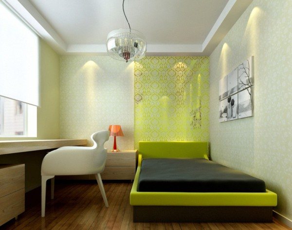 modest-minimalist-bedroom-inspiration-green-theme