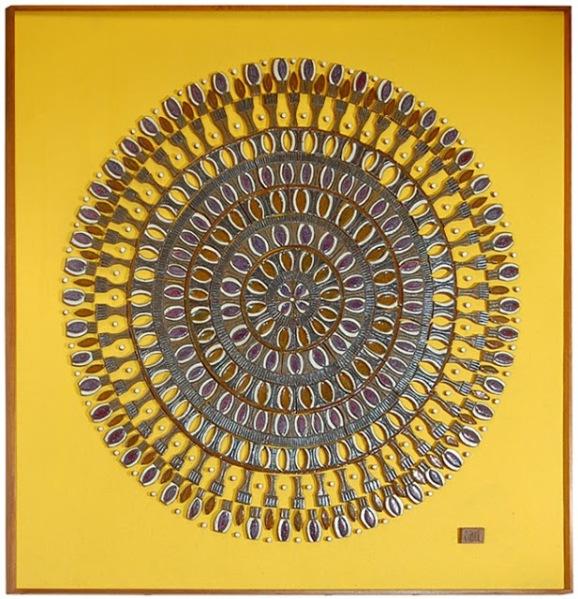 Raul Coronel, Queen, circa 1968, 17 x 10.75 in., Clark's Fine Art & Auctioneers (sold 2006)