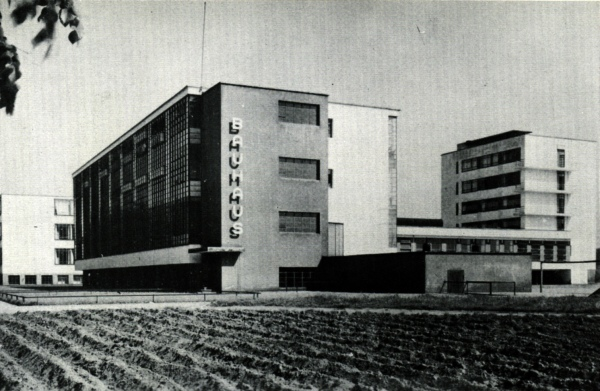 The Bauhaus school in Weimer.
