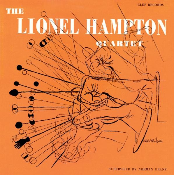 """The Lionel+Hampton Quartet"""" released in 1955"""