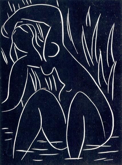 Linocut - Henri Matisse, 1941 - 1942